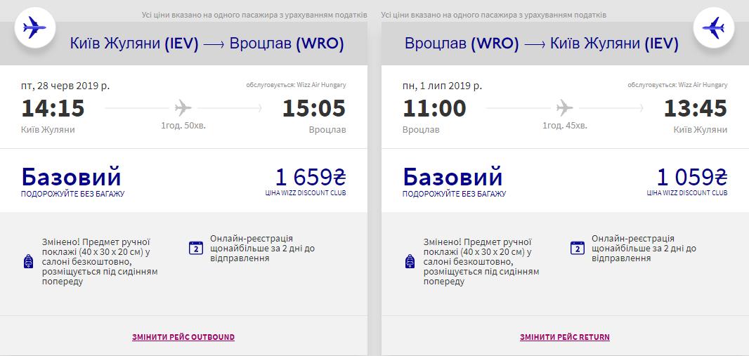 Київ - Вроцлав - Київ