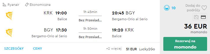 Краків - Бергамо - Краків