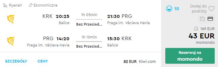 Краків – Прага - Краків