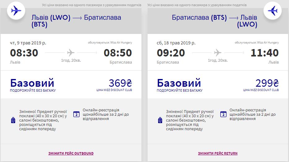 Львів - Братислава - Львів