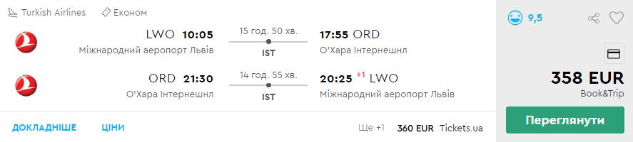 Львів - Чикаго - Львів