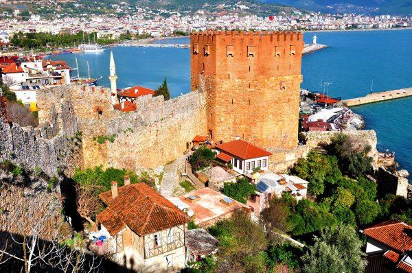 Туреччина Аланія замок