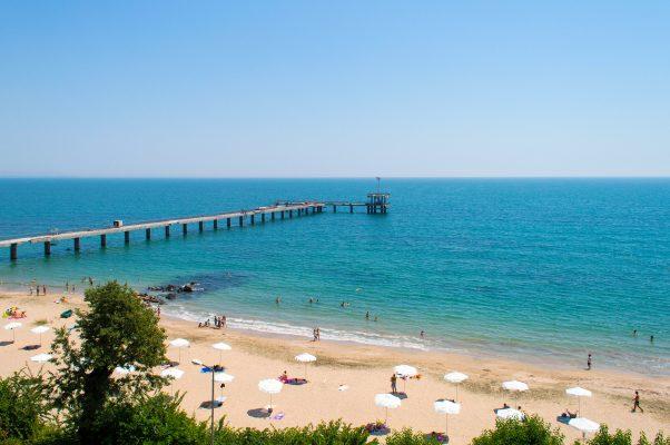 Болгария Бургас море