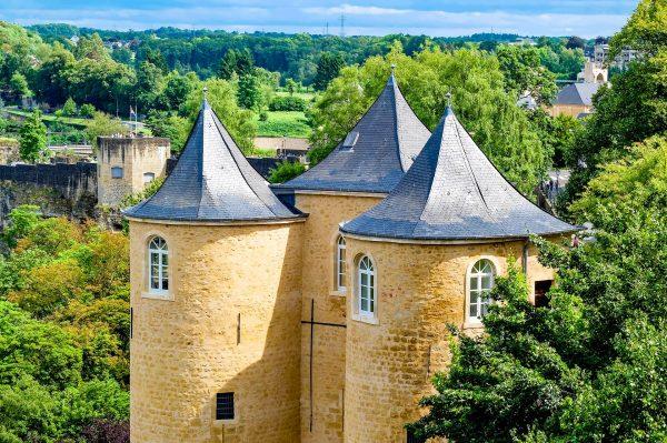 Люксембург замок