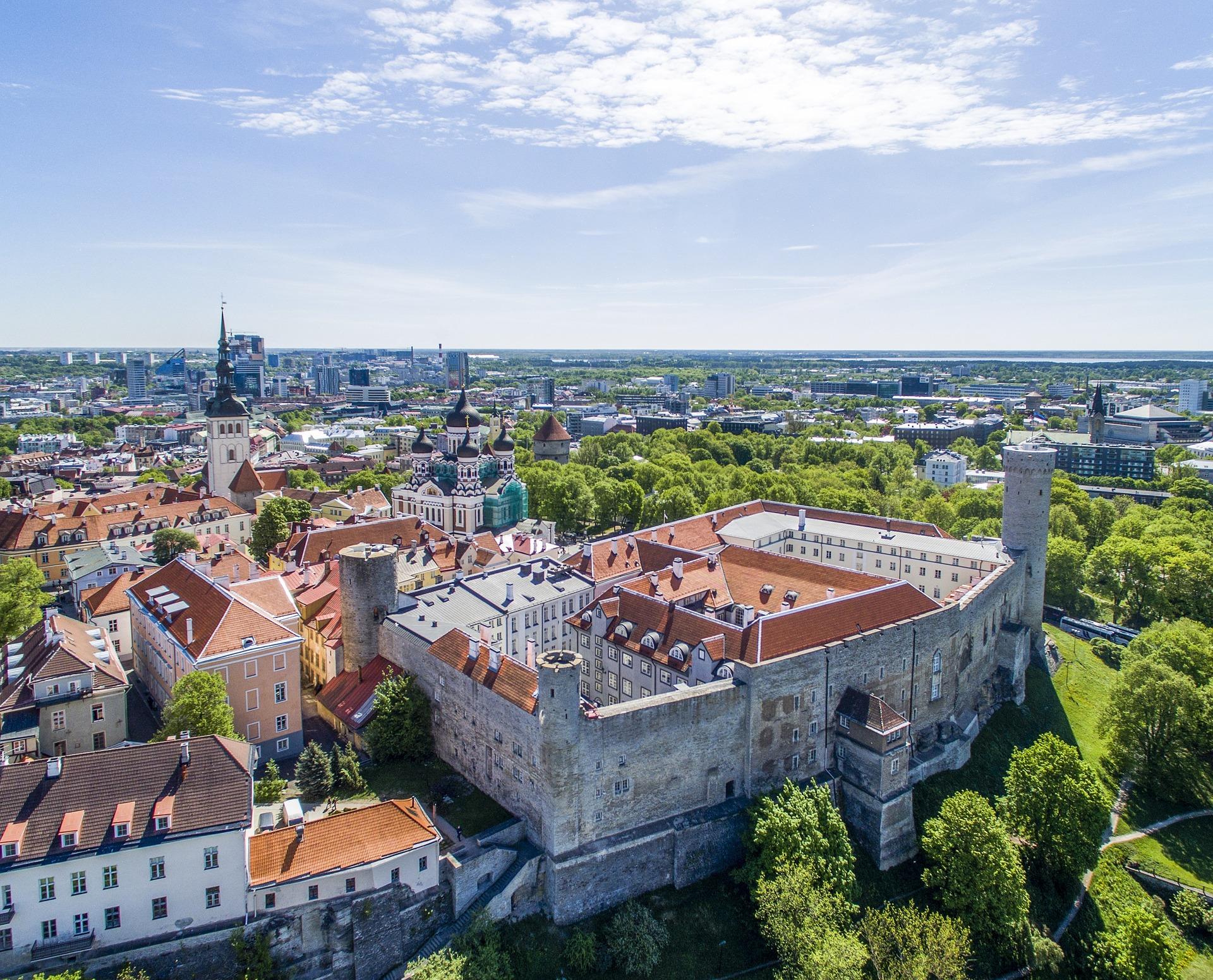 таллінн панорама міста