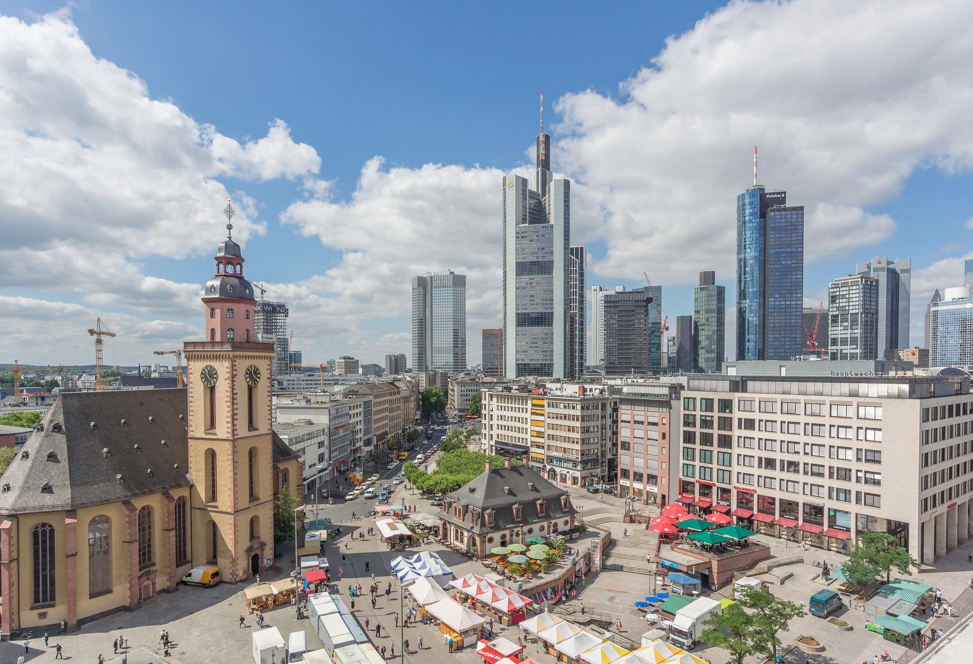 франкфурт центр міста