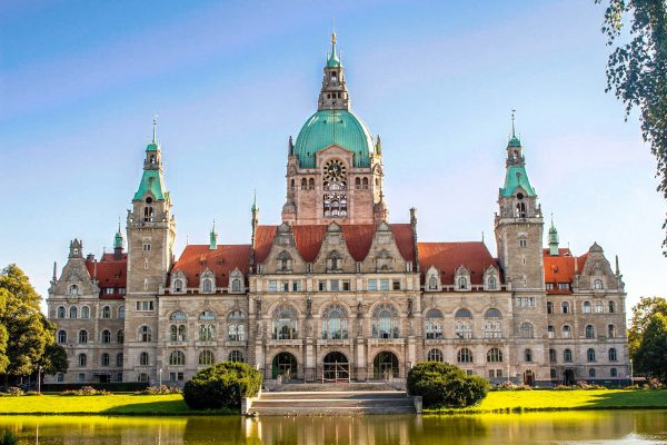 Німеччина Ганновер палац