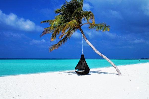 Мальдіви пляж гамак