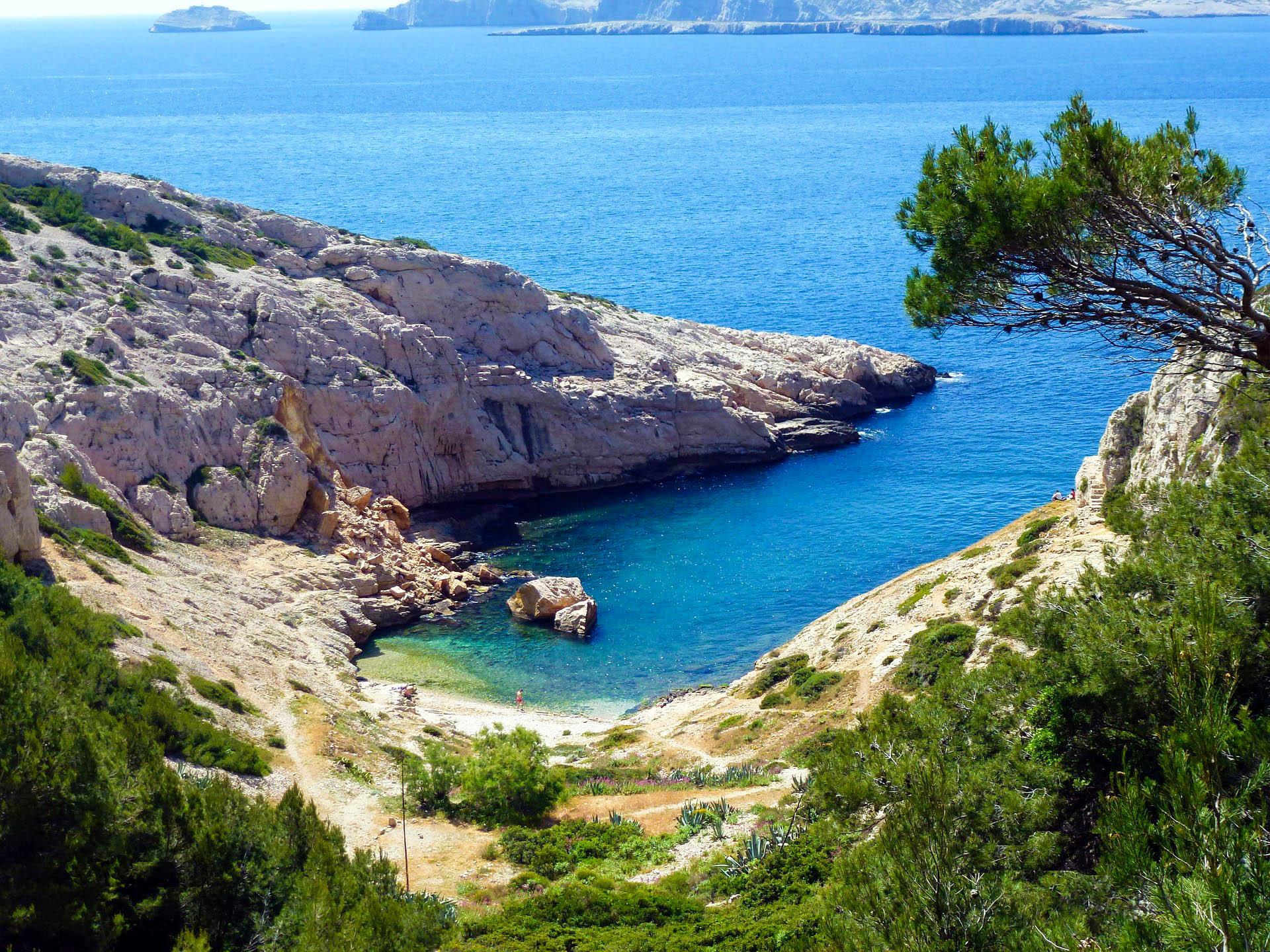 Франція Марсель море бухта