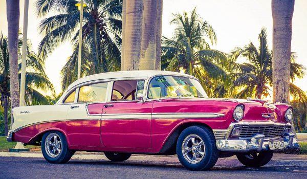 Куба стара машина