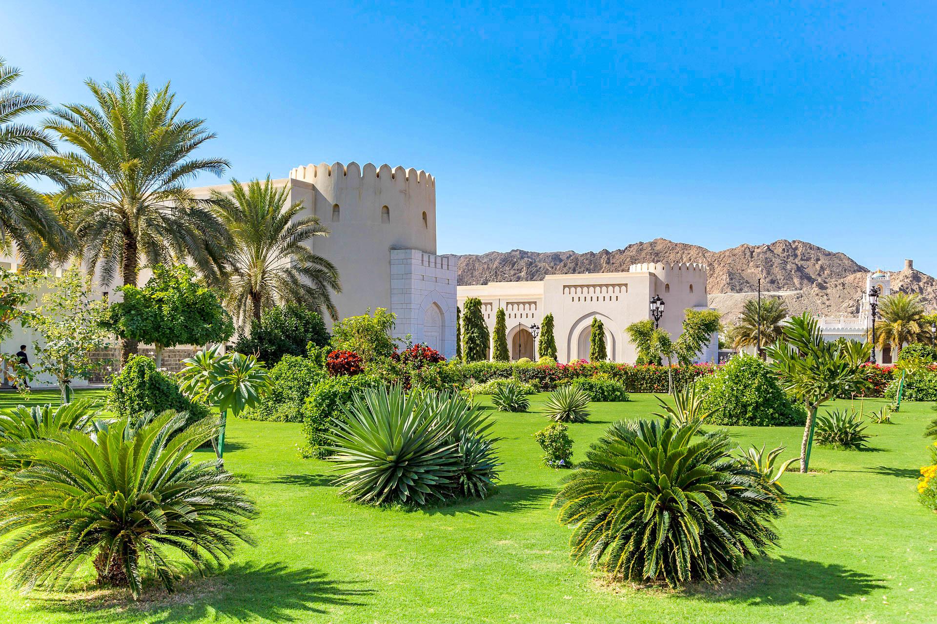 Оман палац
