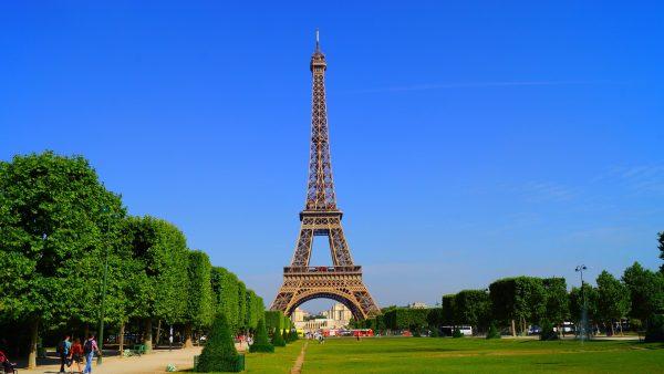 Франція Париж Ейфелева вежа