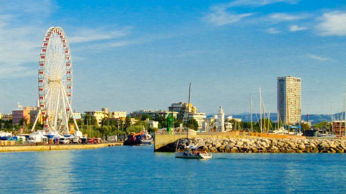 Італія Ріміні порт