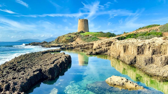 Італія Сардинія вежа