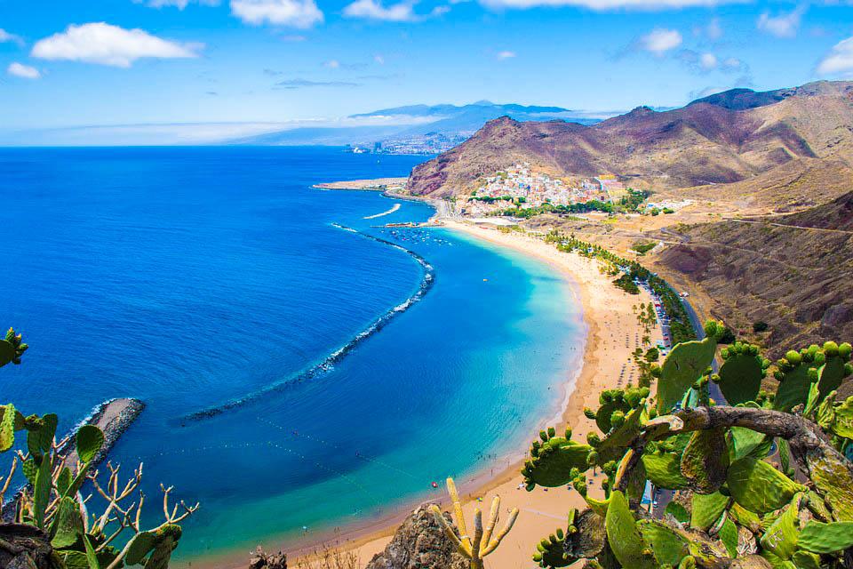 Іспанія Пляж Санта-Круз-де-Тенеріфе