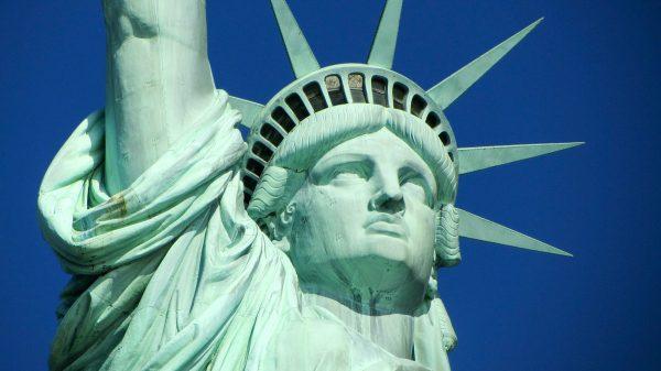 США Нью Йорк Статуя Свободи