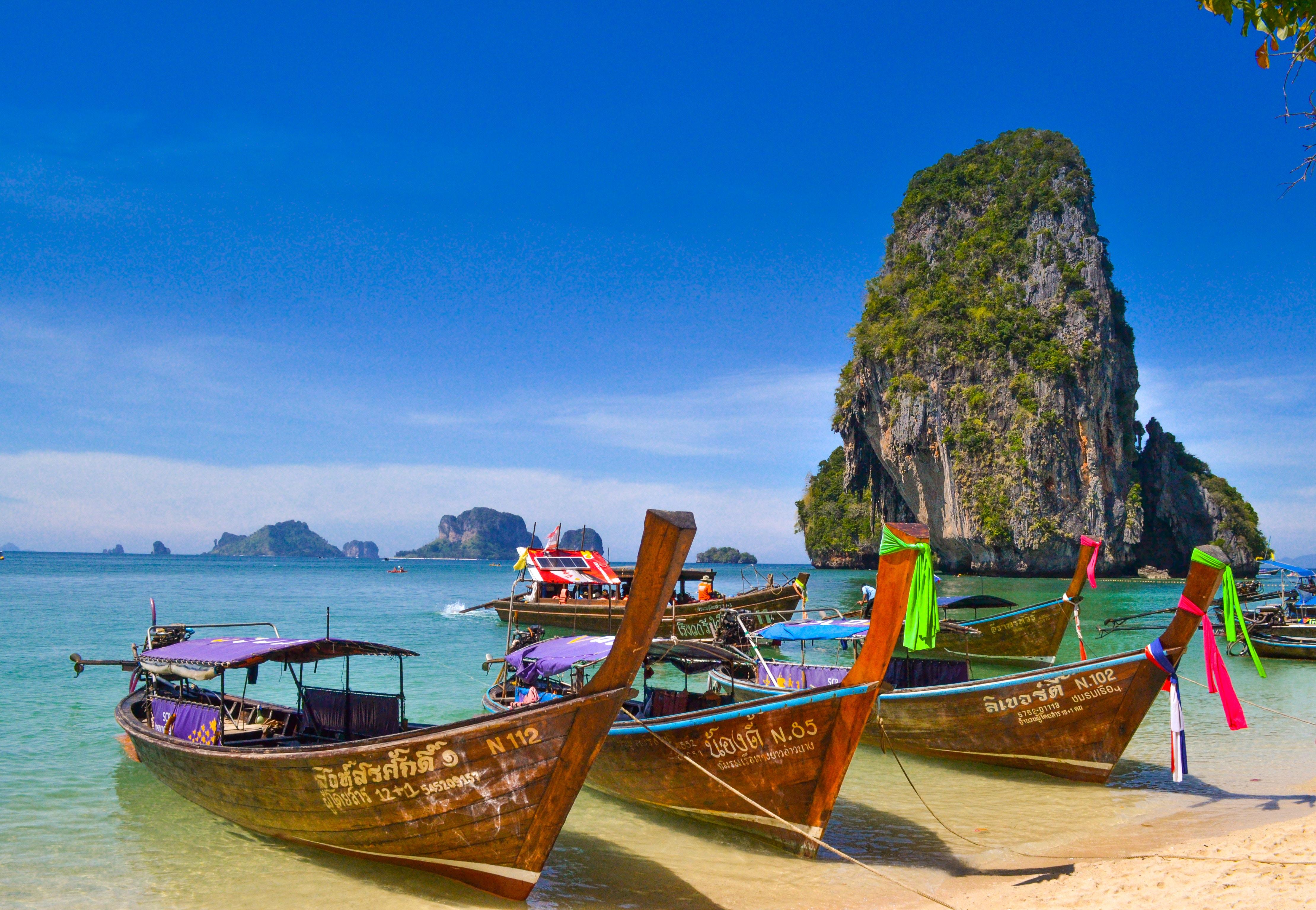 Таїланд Крабі човни