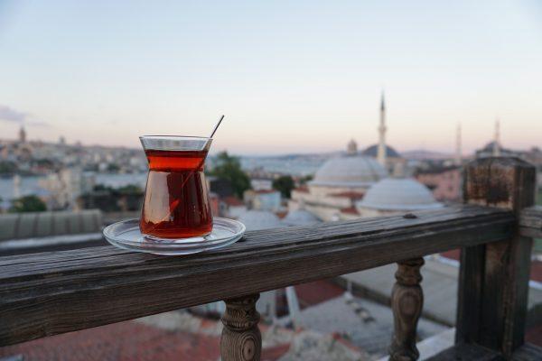 стамбул чай панорама