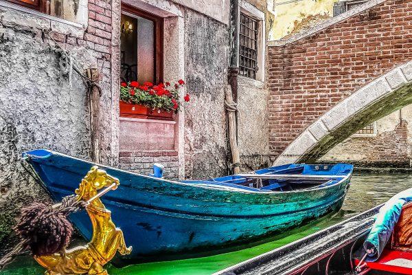 Італія Венеція човен
