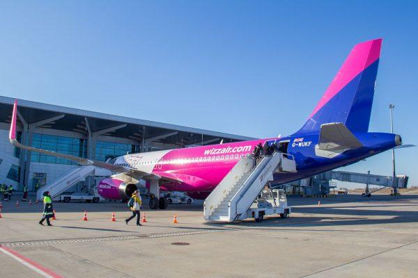 літак wizzair в Харкові