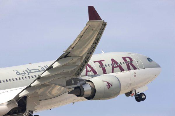 літак Qatar Airways