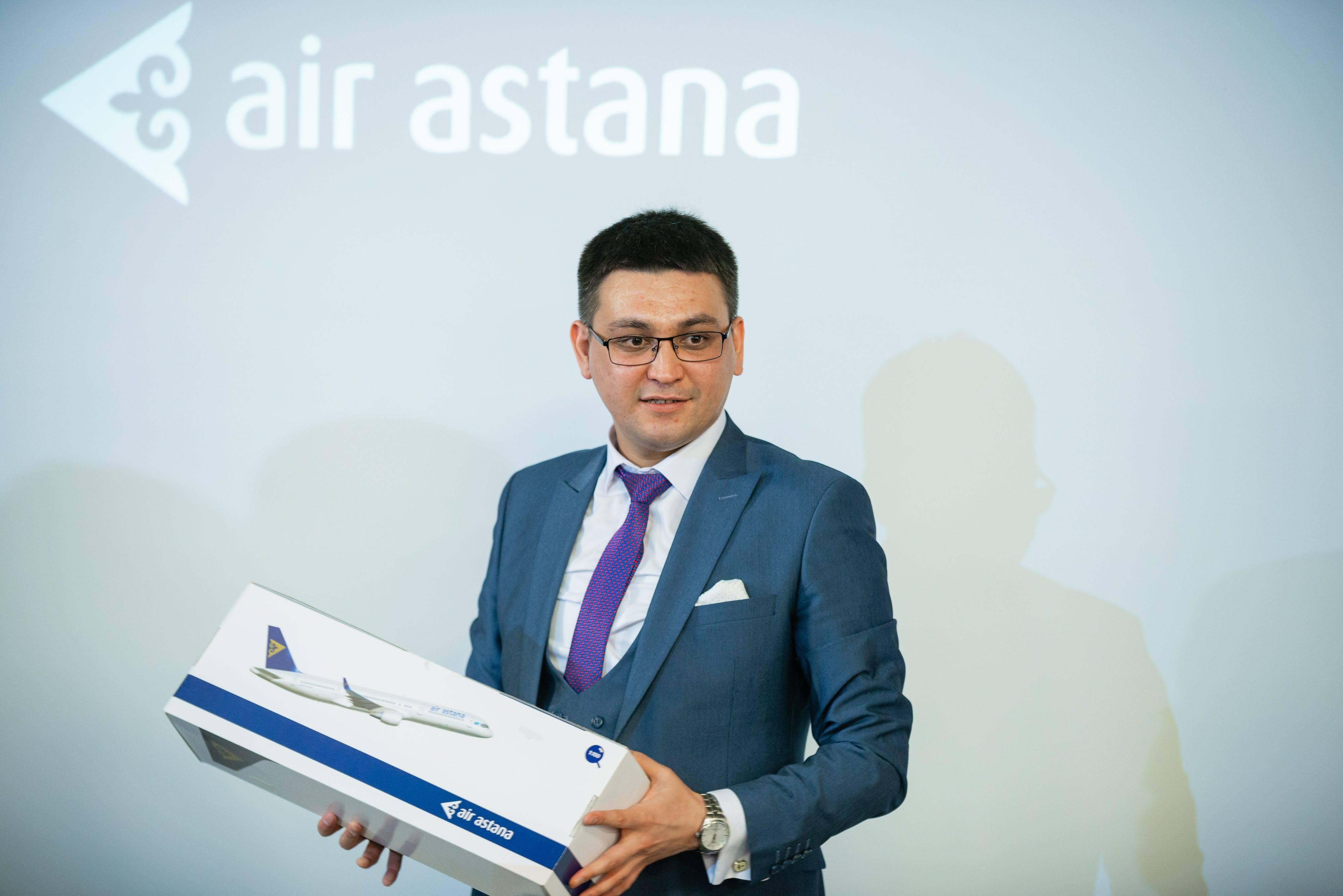 регіональний менеджер авіакомпанії Air Astana