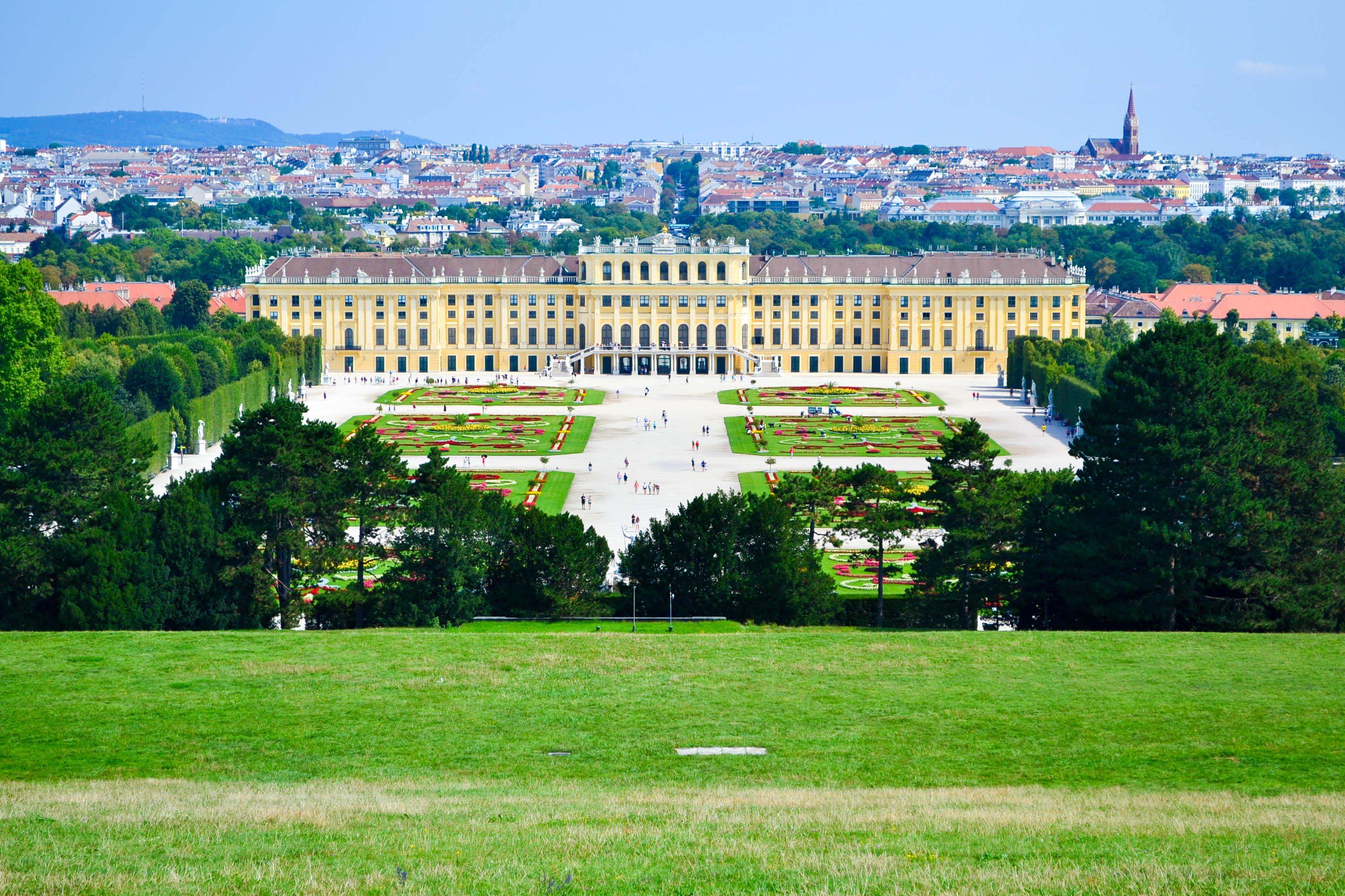 Австрія Відень палац Шенбрунн