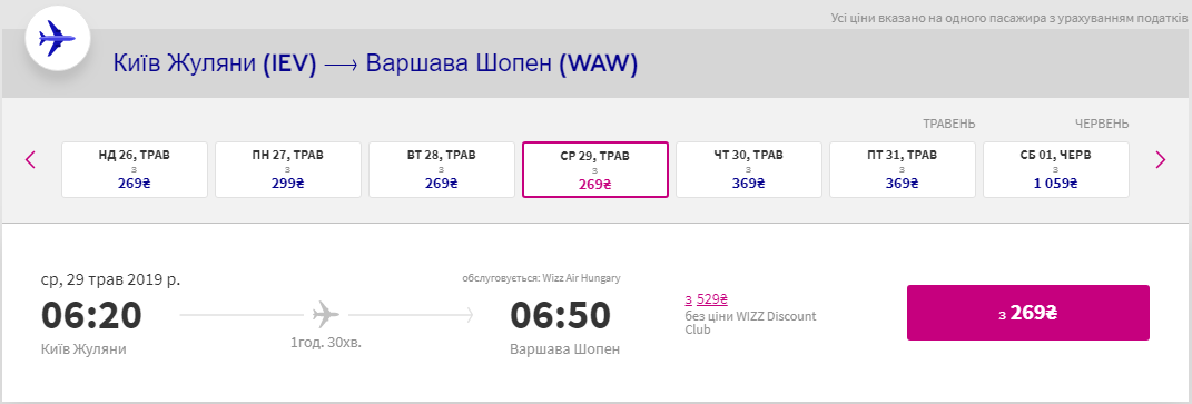 Київ - Варшава