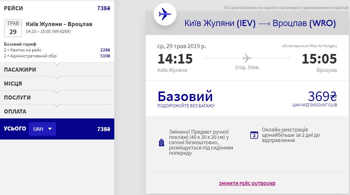Київ - Вроцлав