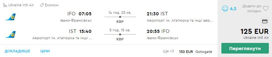 Івано-Франківськ -Стамбул -Івано-Франківськ >>