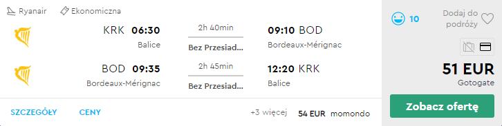 Краків - Бордо - Краків