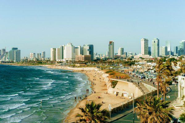 Ізраїль Тель-Авів море