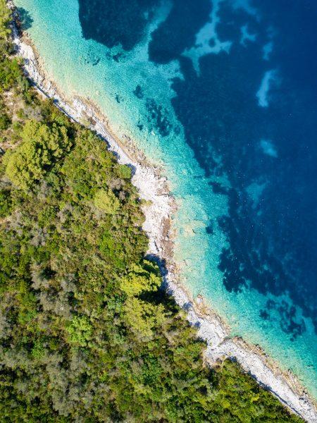 Хорватія море берег