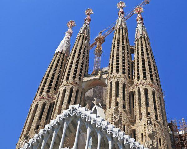 Іспанія Барселона собор святого сімейства