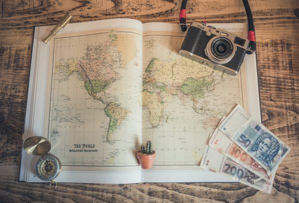 Подорож фотоапарат карта