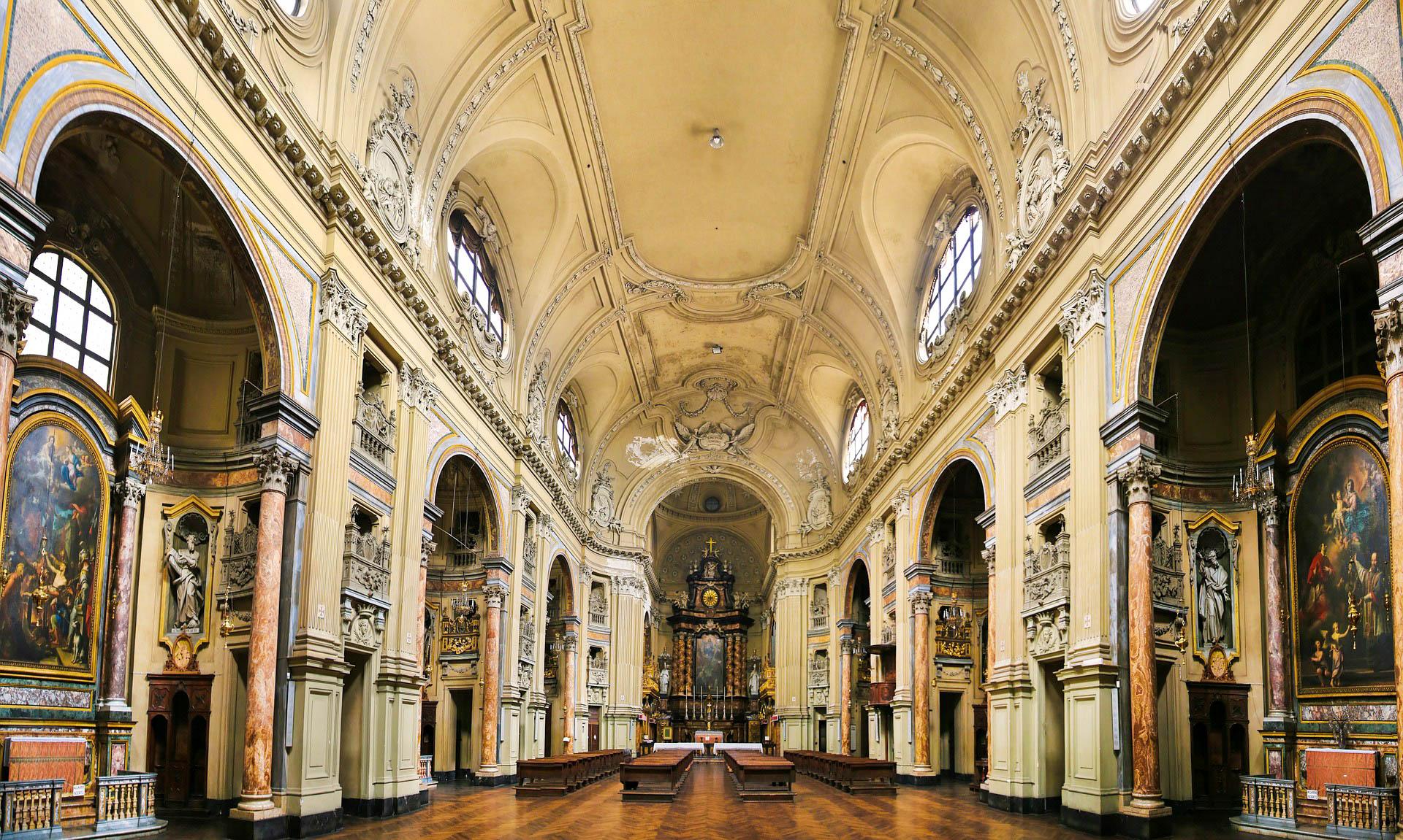 Італія Турин церква