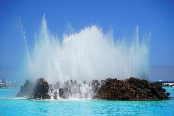 Іспанія Тенеріфе фонтан