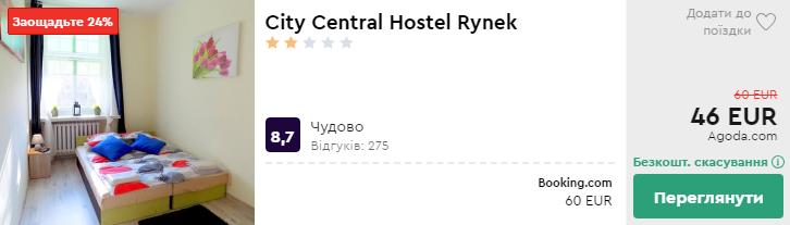 City Central Hostel Rynek