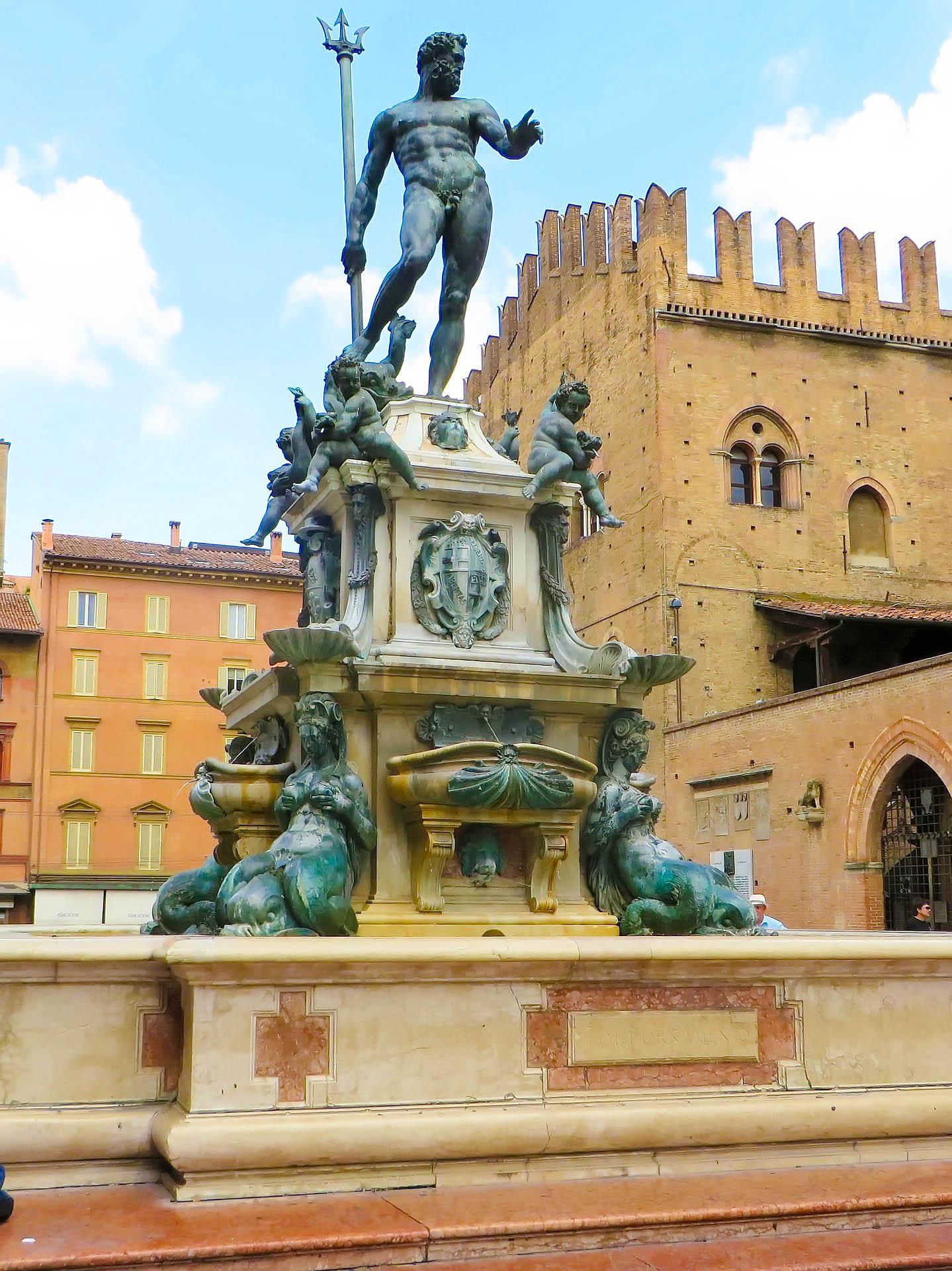 Італія Болонья площа Нептуна
