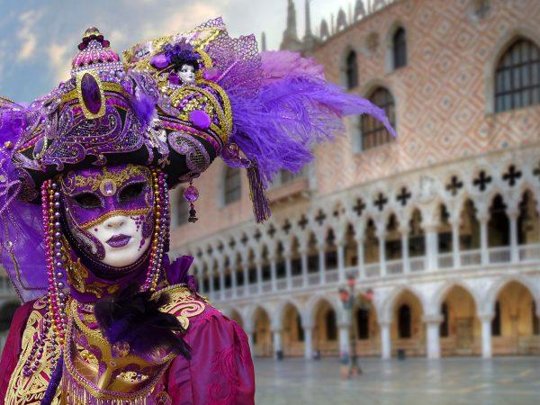 Італія Венеція маска