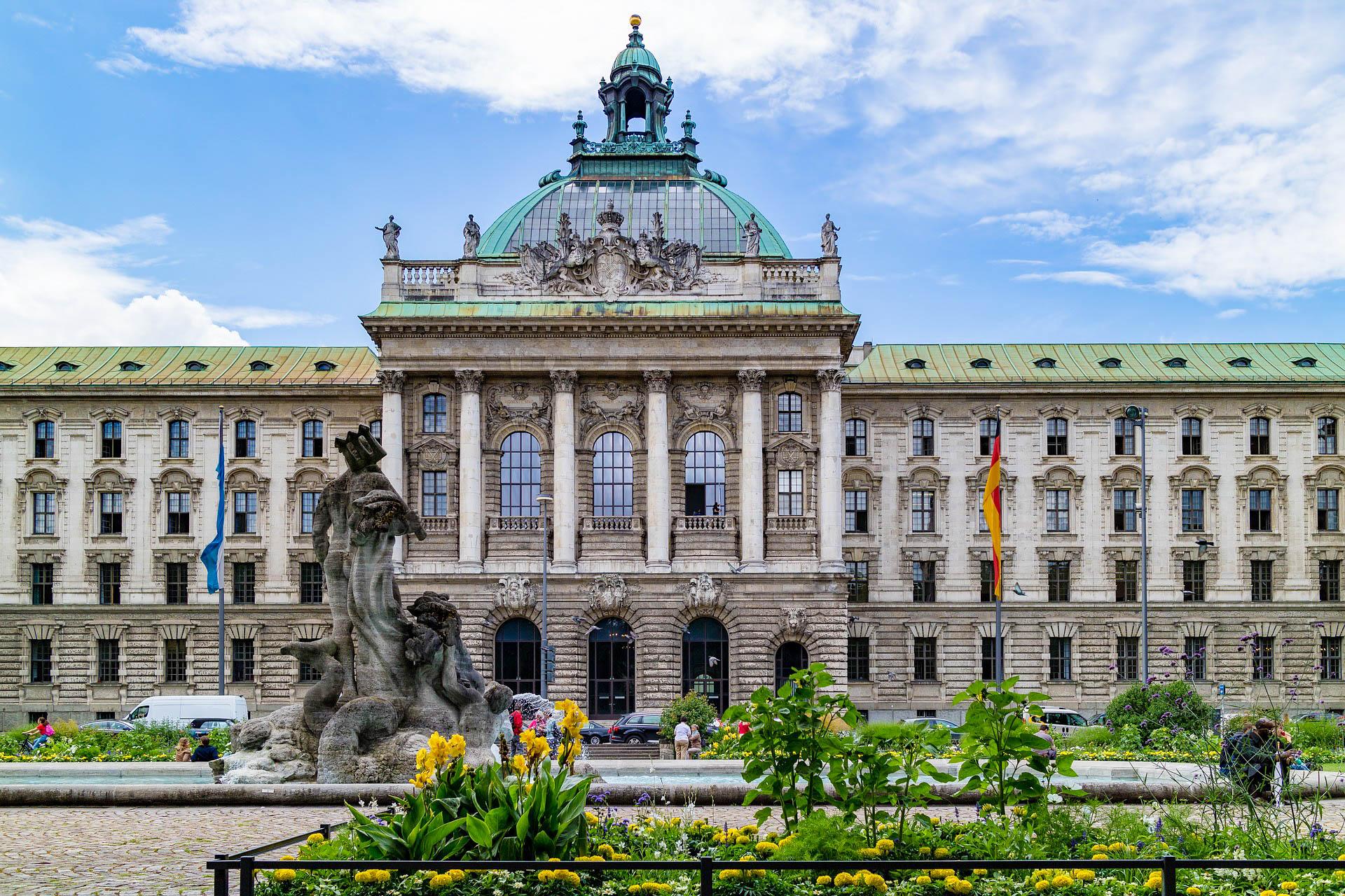 Німеччина Мюнхен палац юстиції