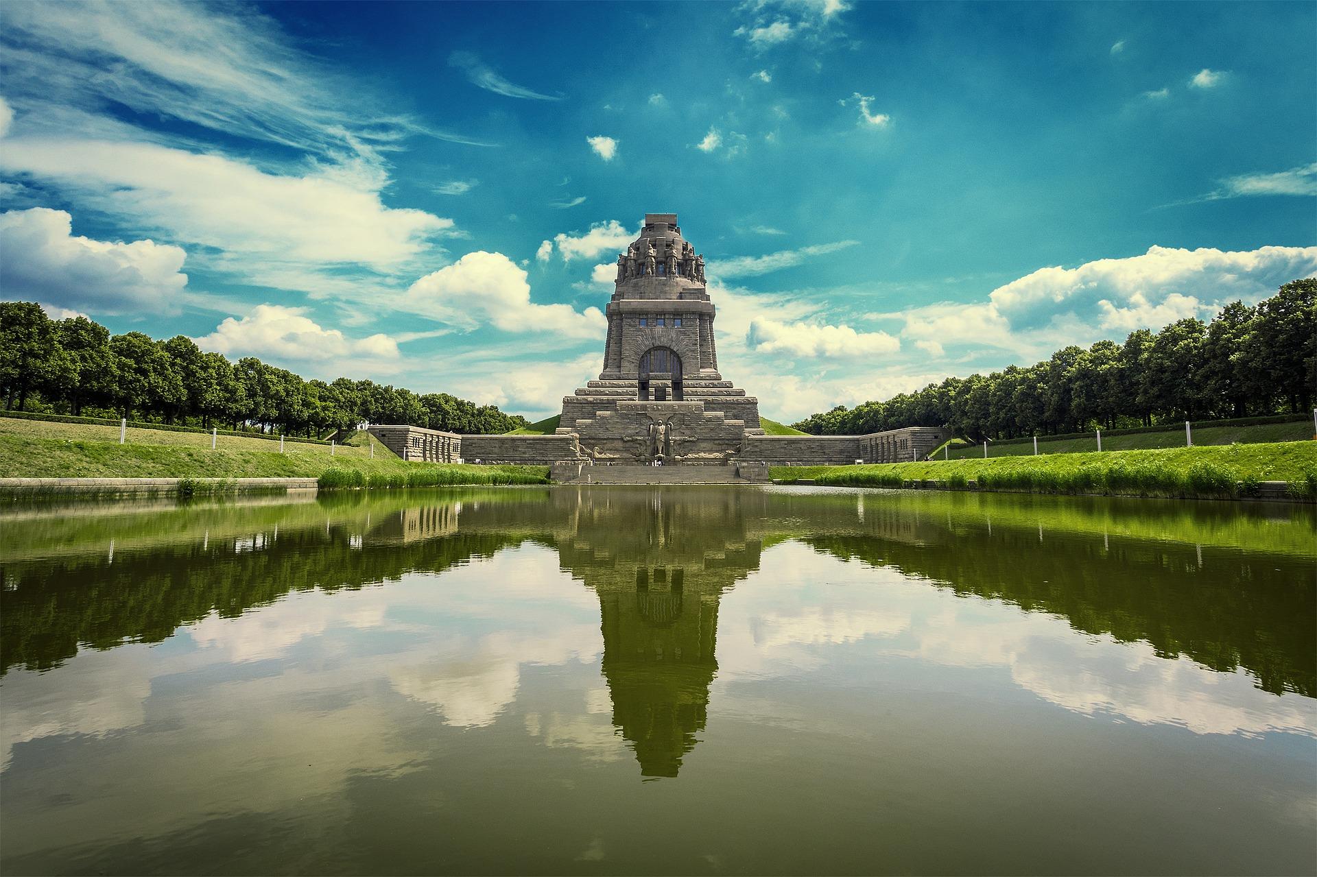 Німеччина Лейпциг пам'ятник