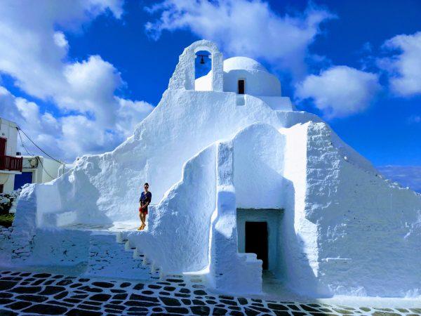 Греція Міконос будинок