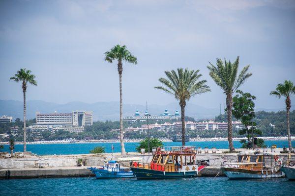 сіде море пальми