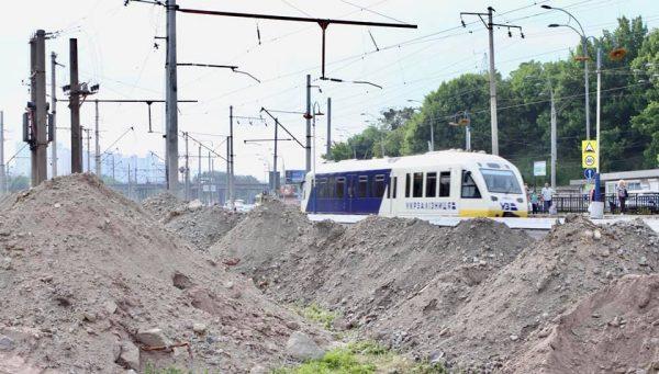 Kyiv Boryspil Express на Видубичах