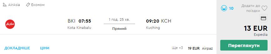 Кота-Кінабалу - Кучінг
