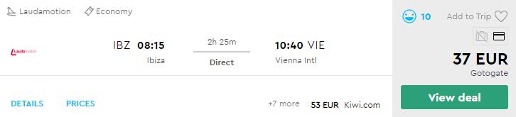 Ібіца - Відень