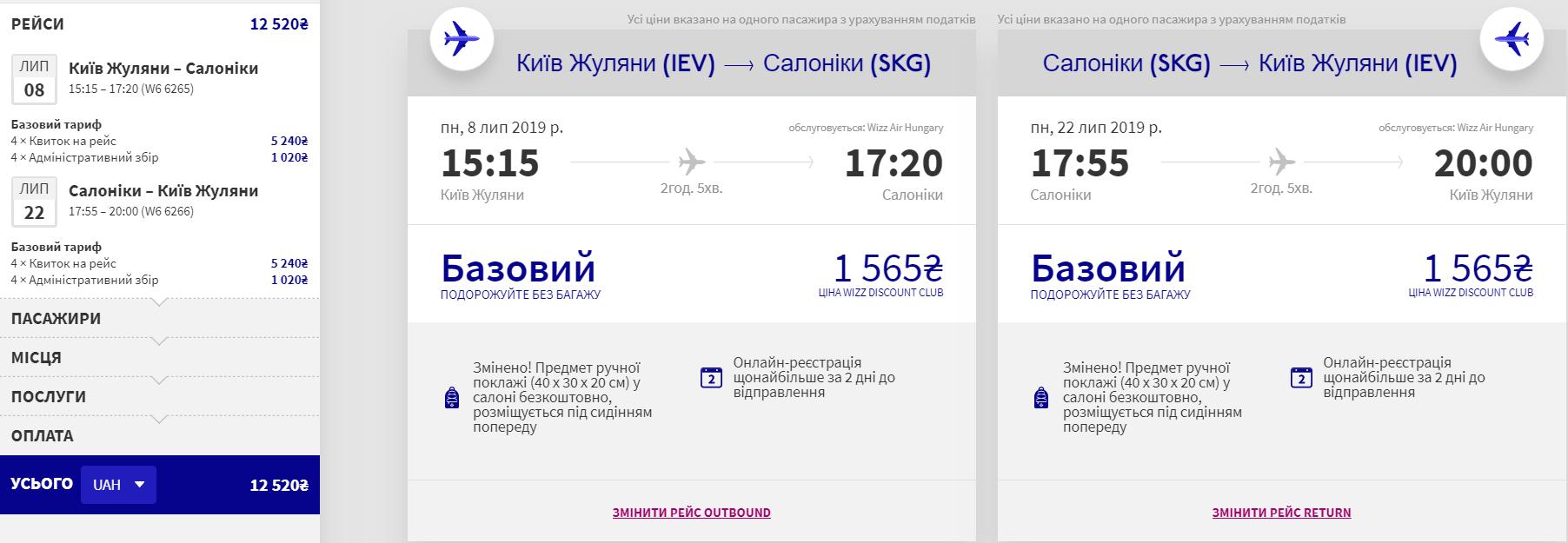 Київ - Салоніки - Київ >>