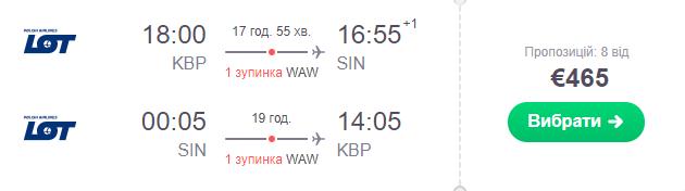 Київ - Сінгапур - Київ
