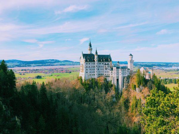 Німеччина Фюссен Нойшванштайн